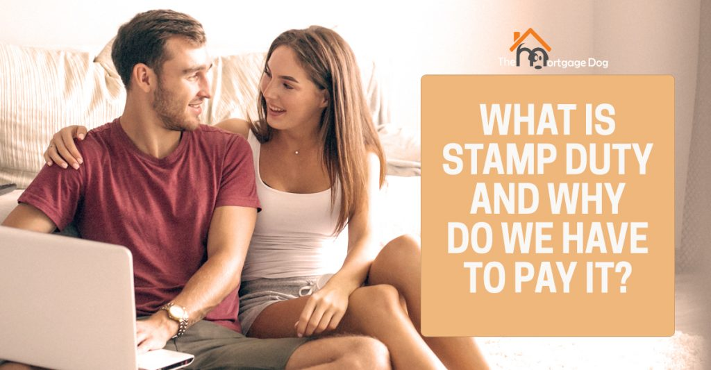 Couple looking at Stamp Duty cost