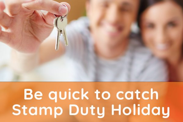 Couple beat stamp duty holiday deadline