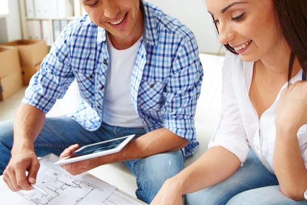 Couple buying a new-build house and needing a mortgage